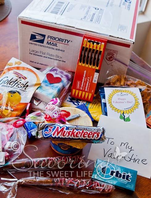 valentine's day care packages – savoring the sweet life blog, Ideas